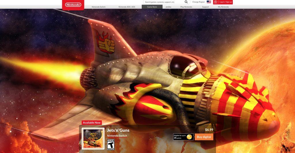 Česká hra Jets'n'Guns vyšla na Nintendo Switch