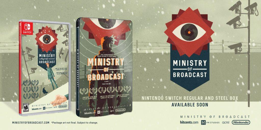 Ministry of Broadcast limitovaná edice pro Nintendo Switch